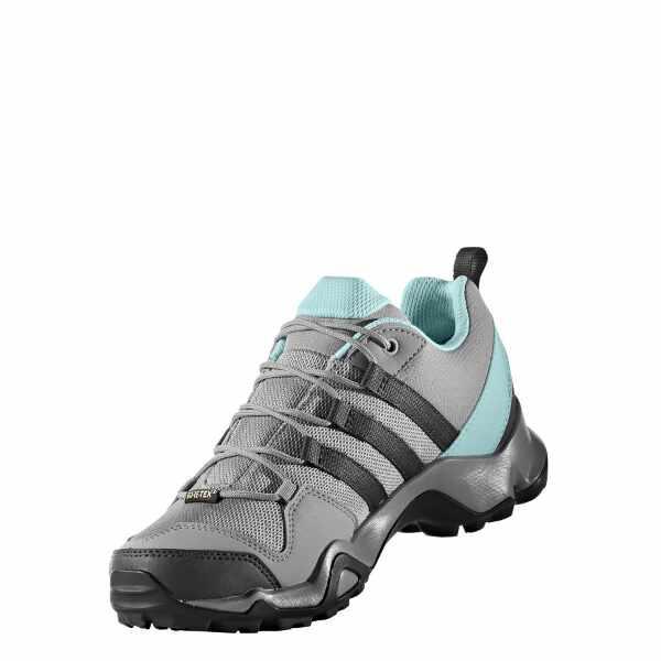 【アディダス】 テレックス AX2R GTX W ゴアテックス レディース [サイズ:22.5cm] [カラー:ソリッドグレー×クリアアクア] #BY8768 【スポーツ・アウトドア:登山・トレッキング:靴・ブーツ】【ADIDAS TERREX AX2R GTX W】