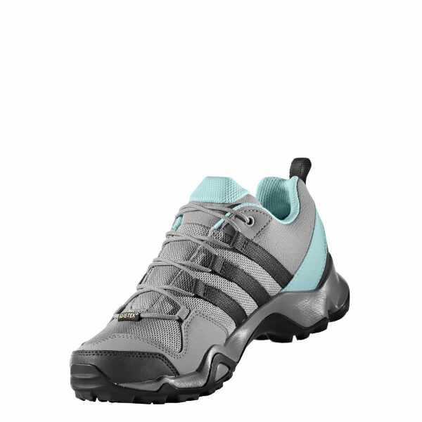 【アディダス】 テレックス AX2R GTX W ゴアテックス レディース [サイズ:23.0cm] [カラー:ソリッドグレー×クリアアクア] #BY8768 【スポーツ・アウトドア:登山・トレッキング:靴・ブーツ】【ADIDAS TERREX AX2R GTX W】
