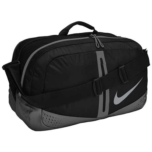 ラン ダッフルバッグ [カラー:ブラック×クールグレー] [サイズ:46×25×21cm] #RN9011-009