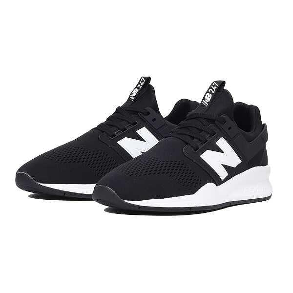【ニューバランス】 MS247 [サイズ:27.5cm(D)] [カラー:ブラック] #MS247EB 【スポーツ・アウトドア:ジョギング・マラソン:シューズ:メンズシューズ】【NEW BALANCE】