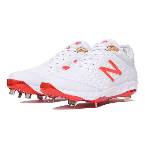 【ニューバランス】 CLEATS WHITE/FL [サイズ:26.5(D)] #L3000AS4 【スポーツ・アウトドア】【NEW BALANCE】