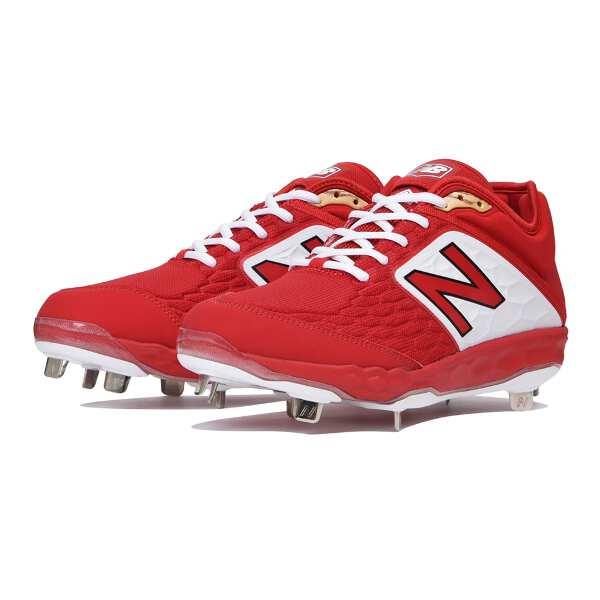 【ニューバランス】 L3000 野球樹脂底スパイク [サイズ:27.5cm(D)] [カラー:レッド] #L3000TR4 【スポーツ・アウトドア:野球・ソフトボール:スパイク】【NEW BALANCE】