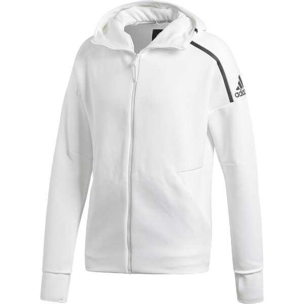 【アディダス】 M adidas Z.N.E. フーディ― ファストリリース [サイズ:O] [カラー:ZNEヘザーホワイト] #EVT16-CY9903 【スポーツ・アウトドア:その他雑貨】【ADIDAS】
