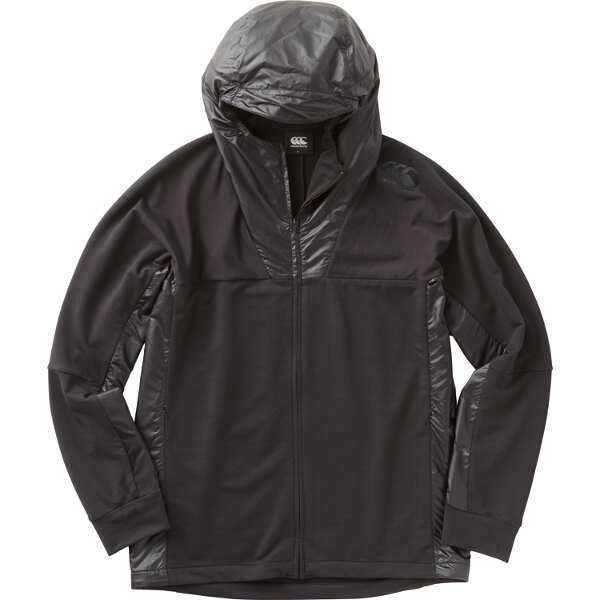 【カンタベリ―】 ロングスリーブ パフォーマンス スウェットジャケット(メンズ) [サイズ:XL] [カラー:ブラック] #RP48025-19 【スポーツ・アウトドア:ラグビー:ウェア】【CANTERBURY】
