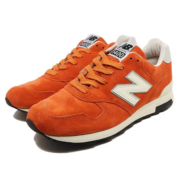 【ニューバランス】 M1400JC [サイズ:25cm (US7) Dワイズ] [カラー:オレンジ] 【靴:メンズ靴:スニーカー】【NEW BALANCE】