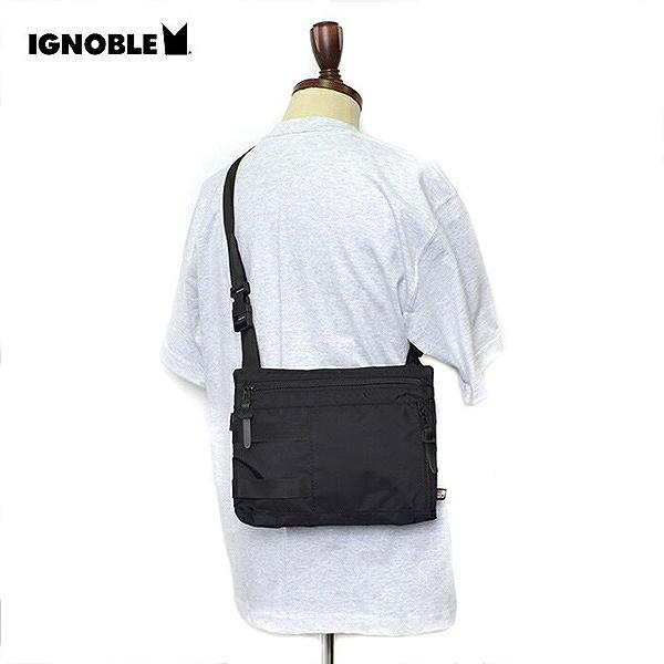 【イグノーブル】 Krupcheck Subdued Shoulder Bag [カラー:Black] #11020 【スポーツ・アウトドア:その他雑貨】【IGNOBLE】