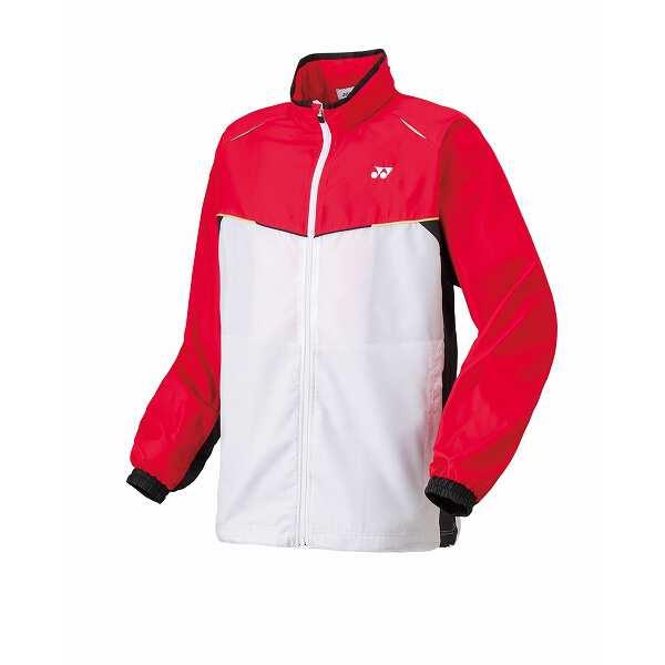 【ヨネックス】 ユニ ウインドウォーマーシャツ [サイズ:M] [カラー:サンセットレッド] #70058-496 【スポーツ・アウトドア:スポーツウェア・アクセサリー:ウインドブレーカー:メンズウインドブレーカー:アウター】【YONEX】