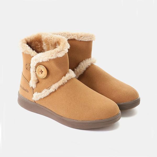 【コロンビア】 ベアフットマウンテン2ウォータープルーフ [サイズ:25cm] [カラー:Cayenne] # YL3963-629 【靴:レディース靴:ブーツ:ムートンブーツ】【 YL3963-629】【COLUMBIA Bearfoot Mountain 2 Waterproof】