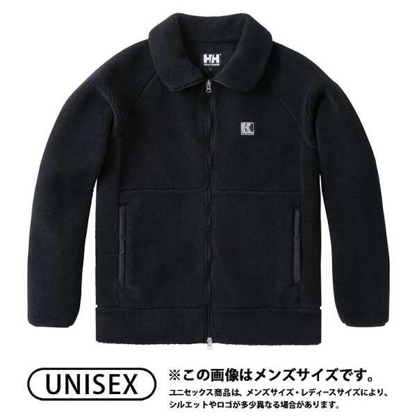 【ヘリーハンセン】 ファイバーパイルジャケット(ユニセックス) [サイズ:M] [カラー:ブラック] #HE51862-K 【スポーツ・アウトドア:アウトドア:ウェア:メンズウェア:アウター】【HELLY HANSEN FIBERPILE Jacket】