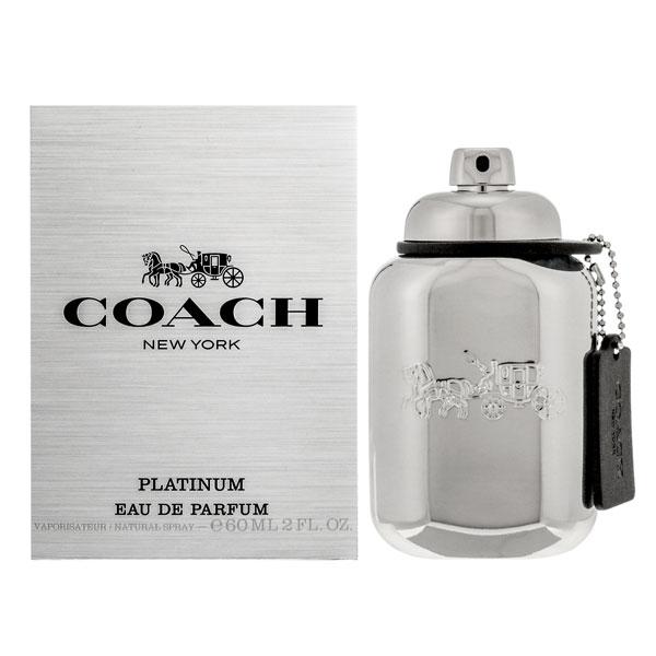 メンズ COACH コーチ フレグランス マン プラチナム 【楽ギフ_包装】 ( オードパルファム ) 人気 60ML EDP SP 香水