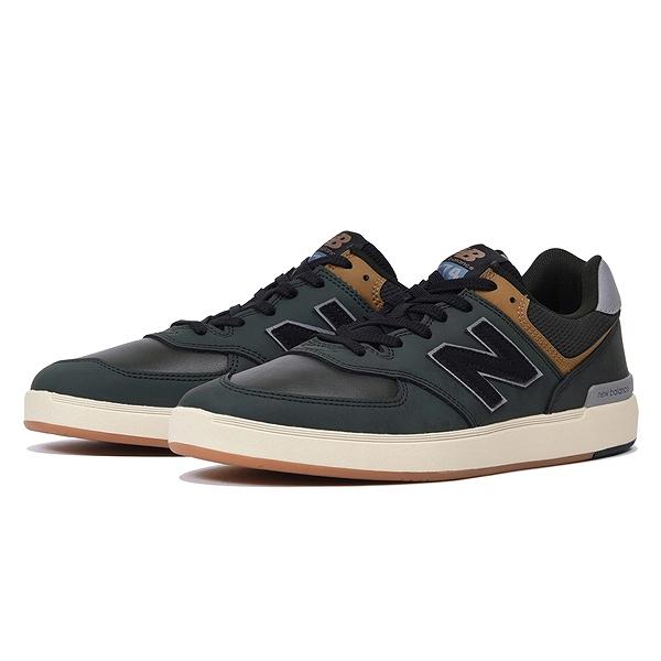 【ニューバランス】 ニューバランス ヌメリック AM574GRG [サイズ:26.5cm (US8.5) Dワイズ] [カラー:オリーブ] 【靴:メンズ靴:スニーカー】【NEW BALANCE】