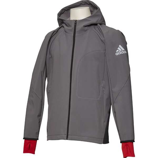 【アディダス】 M4T 撥水ウルトラウォームジャケット [サイズ:M] [カラー:グレーフォア] #EYW28-CZ2175 【スポーツ・アウトドア:アウトドア:ウェア:メンズウェア:アウター】【ADIDAS】