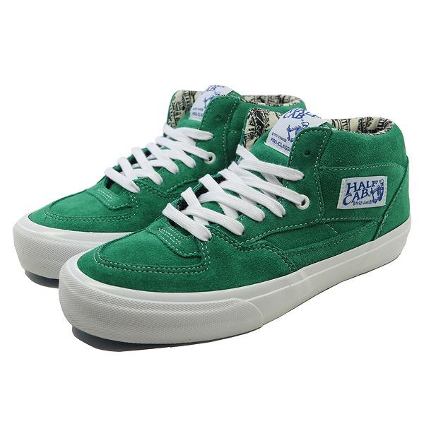 【バンズ】 バンズ ハーフキャブ プロ (Ray Barbee) [サイズ:26.5cm(US8.5)] [カラー:エメラルド] #VN0A38CPU1R 【靴:メンズ靴:スニーカー】【VN0A38CPU1R】【VANS VANS HALF CAB PRO (Ray Barbee)Og Emerald】