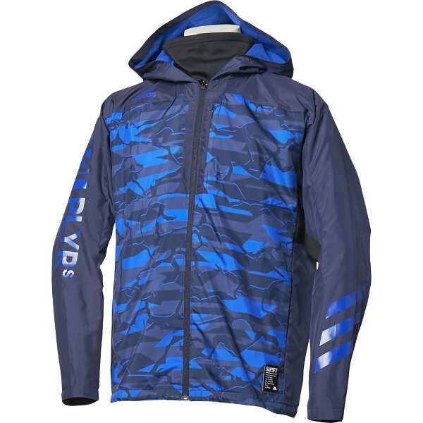 【アディダス】 5T VS ウィンドブレーカージャケット [サイズ:2XO] [カラー:レジェンドインク×カレッジロイヤル] #FKL01-DM8703 【スポーツ・アウトドア:アウトドア:ウェア:メンズウェア:アウター】【ADIDAS】