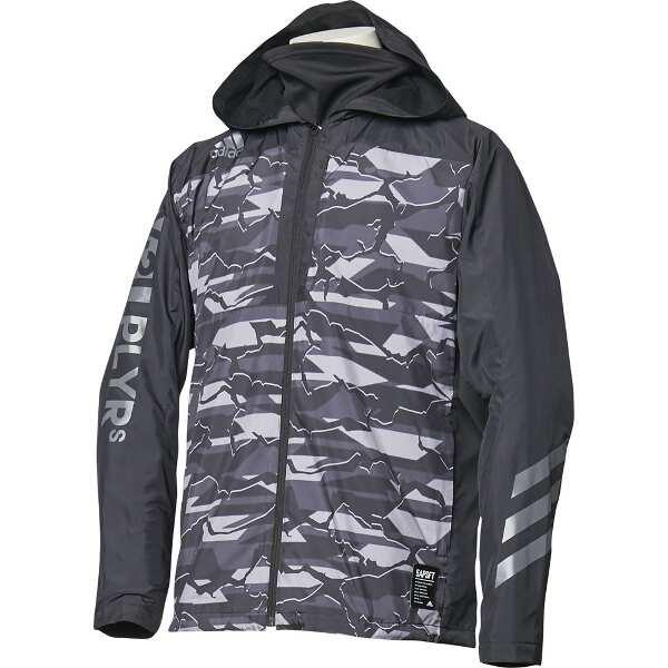 【アディダス】 5T VS ウィンドブレーカージャケット [サイズ:2XO] [カラー:ブラック×ブラック] #FKL01-DM8701 【スポーツ・アウトドア:アウトドア:ウェア:メンズウェア:アウター】【ADIDAS】