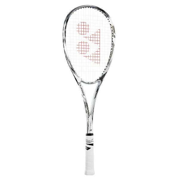 【500円クーポン(要獲得) 4/17 9:59まで】 【送料無料】 ソフトテニスラケット エフレーザー 9S(ガットなし) [サイズ:UL1] [カラー:プラウドホワイト] #FLR9S-719 【ヨネックス: スポーツ・アウトドア テニス ラケット】【YONEX F-LASER 9S】