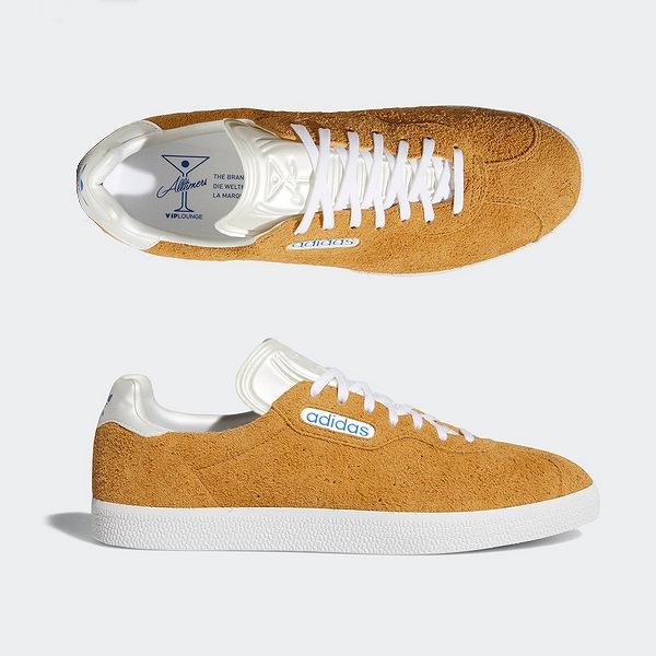 【アディダス】 ガゼルスーパ― × オールタイマーズ [サイズ:27.5cm(US9.5)] [カラー:メサ×ホワイト×ブルー] #BB6998 【靴:メンズ靴:スニーカー】【BB6998】【ADIDAS ADIDAS GAZELLE SUPRE × ALLTIMERS】