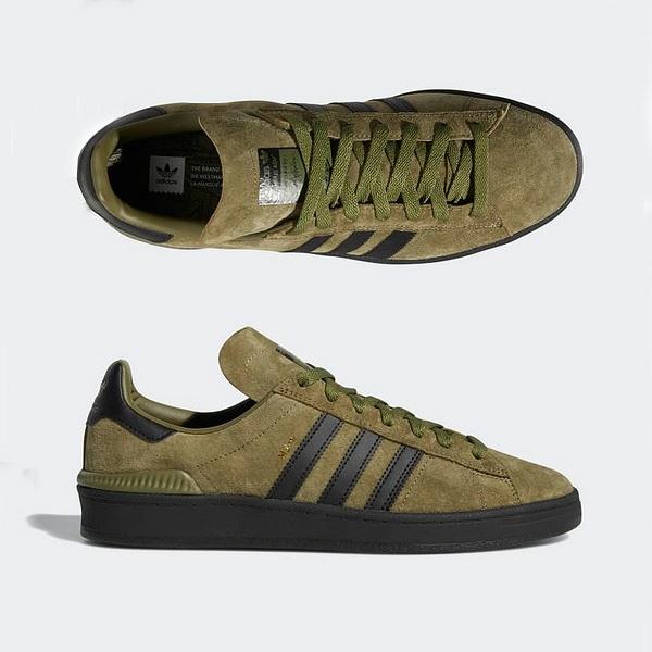 【アディダス】 アディダス キャンパス ADV [サイズ:28.5cm(US10.5)] [カラー:オリーブカーゴ×ブラック] #B22717 【靴:メンズ靴:スニーカー】【B22717】【ADIDAS ADIDAS CAMPUS ADV】