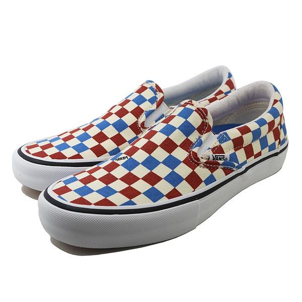 【バンズ】 バンズ スリッポン プロ [サイズ:26cm(US8)] [カラー:ボサノバ×インディゴバンティング] #VN0A347VUHY 【靴:メンズ靴:スニーカー】【VN0A347VUHY】【VANS VANS SLIP-ON PRO Bossa Nova/Indigo Bunting】