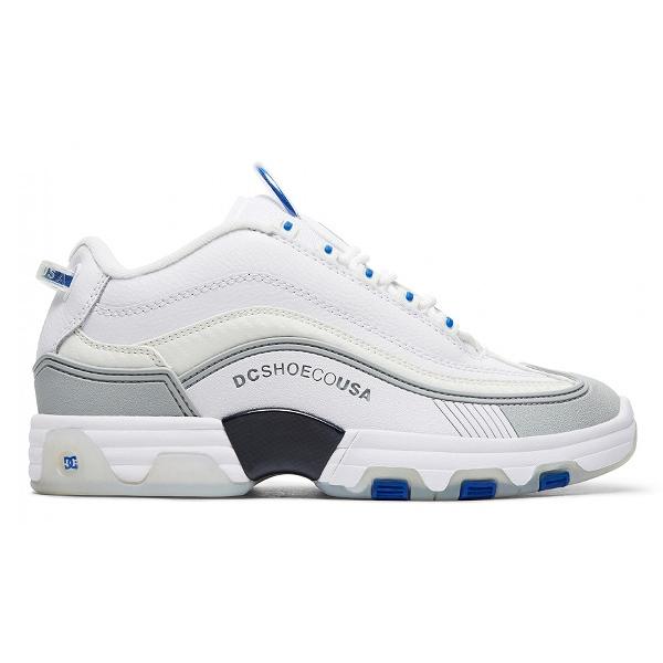 【DC SHOES】 LEGACY OG [サイズ:28cm(US10)] [カラー:ホワイト×グレー×ブルー] #DM186005 WBL 【靴:メンズ靴:スニーカー】【DM186005】