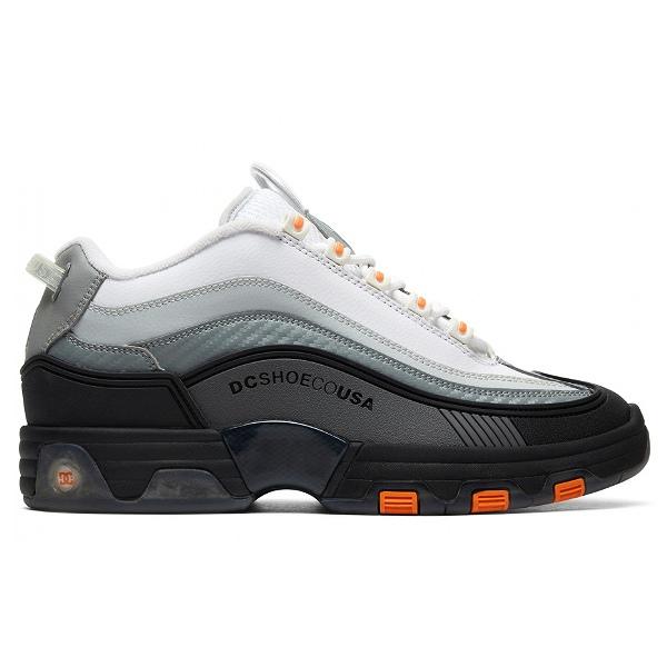 【DC SHOES】 LEGACY OG [サイズ:26.5cm(US8.5)] [カラー:ブラック×ホワイト×オレンジ] #DM186005 BDW 【靴:メンズ靴:スニーカー】【DM186005】