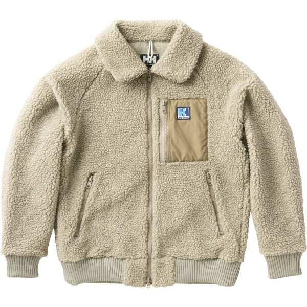 【ヘリーハンセン】 ファイバーパイルサーモジャケット(メンズ) [サイズ:L] [カラー:オートミール] #HO51853-OM 【スポーツ・アウトドア:アウトドア:ウェア:メンズウェア:アウター】【HELLY HANSEN FIBERPILE THERMO Jacket】