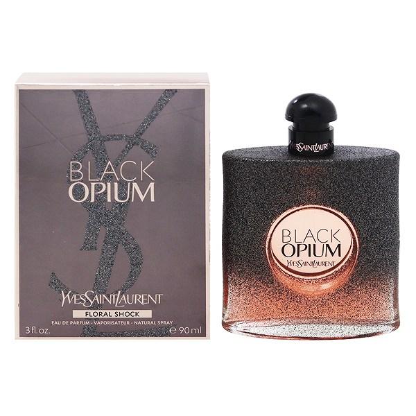 【イブサンローラン】 ブラック オピウム フローラル ショック オーデパルファム・スプレータイプ 90ml 【香水・フレグランス:フルボトル:レディース・女性用】【オピウム】【YVES SAINT LAURENT BLACK OPIUM FLORAL SHOCK EAU DE PARFUM SPRAY】
