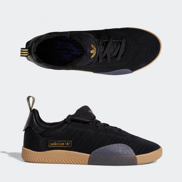 【アディダス】 アディダス スケートボーディング 3ST.003 [サイズ:26cm(US8)] [カラー:ブラックト×ゴールド×ブラック] #DB3163 【靴:メンズ靴:スニーカー】【DB3163】【ADIDAS ADIDAS SKATEBOARDING 3ST.003】