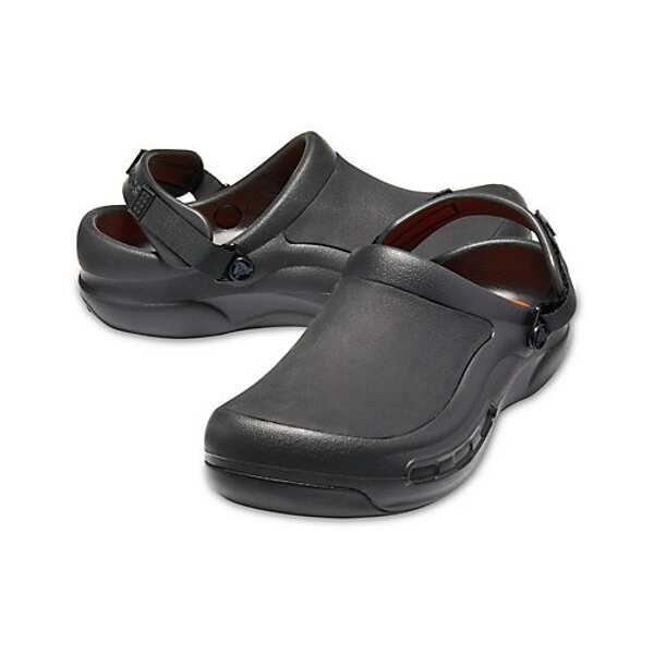 【クロックス】 ビストロプロ ライトライド クロッグ(厨房用) [サイズ:M7(25cm)] [カラー:ブラック] #205669-001 【靴:レディース靴:サンダル】【CROCS bistro pro literide clog】:ビューティーファクトリー