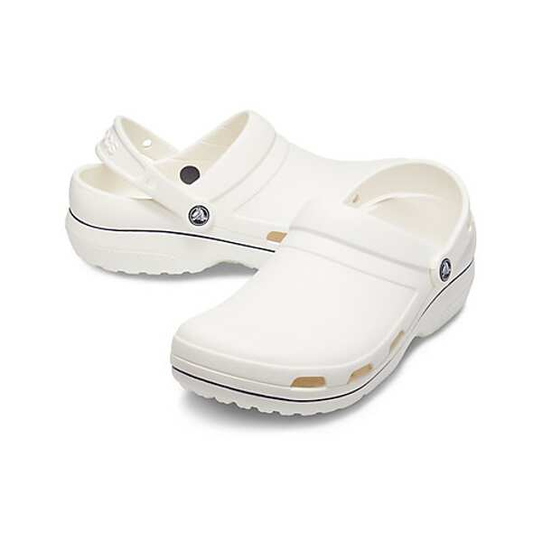 【クロックス】 スペシャリスト 2.0 ベント カラーブロック クロッグ(医療用) [サイズ:M7(25cm)] [カラー:ホワイト×ネイビー] #205883-126 【靴:レディース靴:サンダル】【CROCS specialist 2.0 vent cbclog】:ビューティーファクトリー