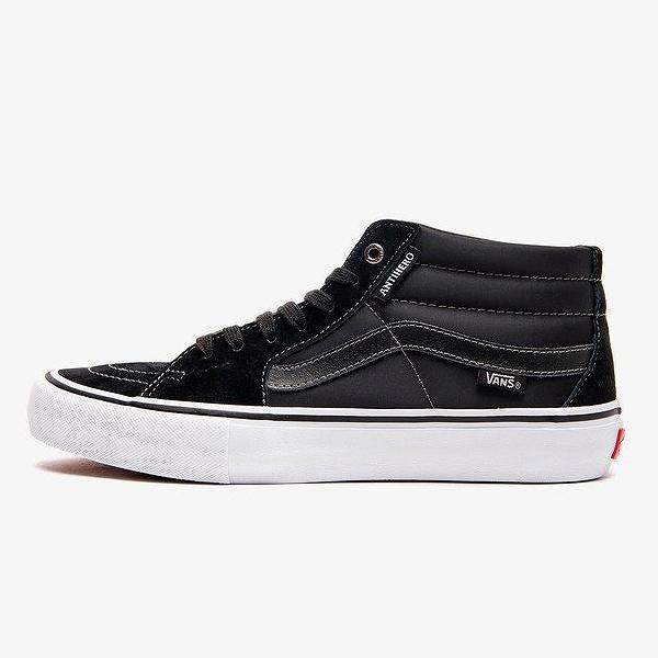 【バンズ】 バンズ スケートミッド プロ (Anti Hero) [サイズ:28.5cm(US10.5)] [カラー:グロッソ×ブラック #VN0A347UVGD 【靴:メンズ靴:スニーカー】【VN0A347UVGD】【VANS VANS SK8-MID PRO ANTI HERO】