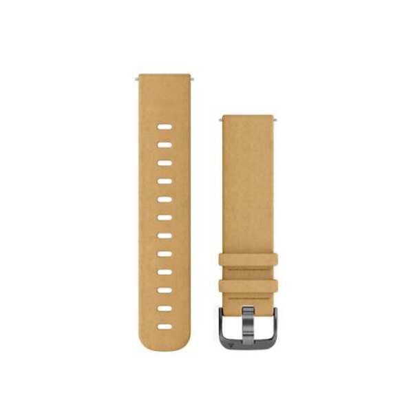 【ガーミン】 Quick Release バンド 20mm ベルト交換キット [カラー:タンスエードスレートレザー] #010-12691-14 【スポーツ・アウトドア:アウトドア:精密機器類:ウォッチ】【GARMIN Quick Release Bands 20mm TanSuedeSlate Leather】