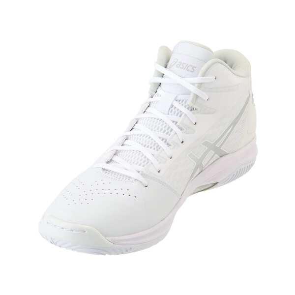 【アシックス】 ゲルフープ V11 バスケットボールシューズ [サイズ:24.5cm] [カラー:ホワイト×シルバー] #1061A015-119 【スポーツ・アウトドア:バスケットボール:競技用シューズ:メンズ競技用シューズ】【ASICS GELHOOP V11】