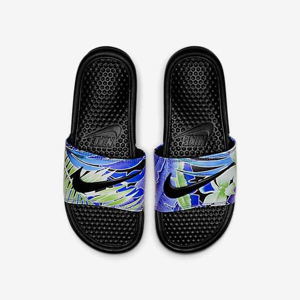 【ナイキ】 ウィメンズ ベナッシ JDI プリント レディース [サイズ:29.0cm] [カラー:ブラック×ホワイト×Gロイヤル] #618919-029 【靴:レディース靴:サンダル:スポーツサンダル】【NIKE】:ビューティーファクトリー