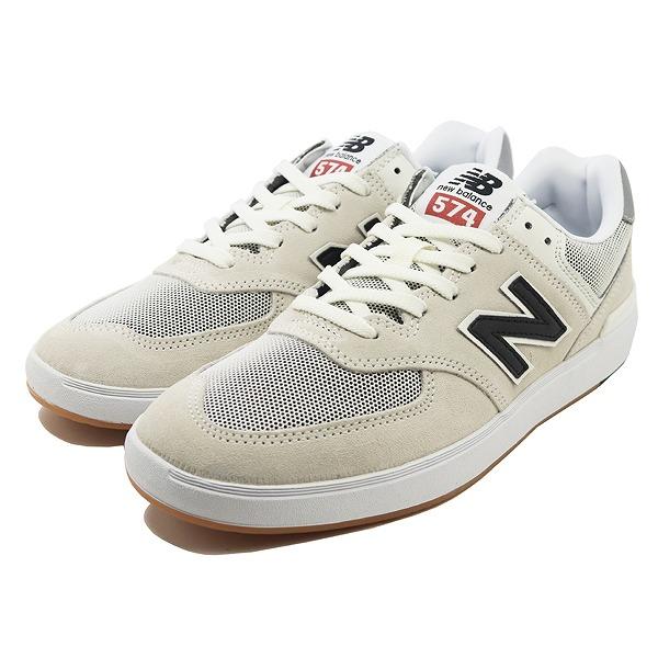 【ニューバランス】 ニューバランス ヌメリック AM574ROS [サイズ:28cm (US10) Dワイズ] [カラー:ホワイト×ブラック] 【靴:メンズ靴:スニーカー】【NEW BALANCE】
