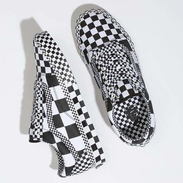 【バンズ】 バンズ オールドスクール (All Ckrbrd) [サイズ:27cm(US9)] [カラー:ブラック×ホワイト] #VN0A4BV5V8U 【靴:メンズ靴:スニーカー】【VN0A4BV5V8U】【VANS VANS OLD SKOOL】