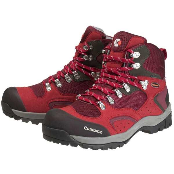 【キャラバン】 C1-02S トレッキングシューズ [サイズ:22.5cm] [カラー:レッド] #0010106-220 【スポーツ・アウトドア:登山・トレッキング:靴・ブーツ】【CARAVAN】
