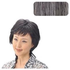 【ソシエ】 部分ウィッグコレクション モアヘアピース #白髪60%入 【ヘアケア:かつら・ウィッグ・エクステ】【SOCIETE】