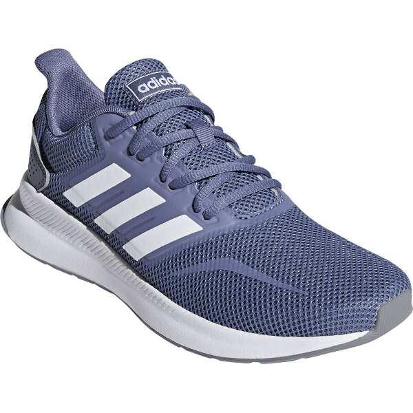 【アディダス】 FALCONRUN W [サイズ:23.0cm] [カラー:ローインディゴ×ホワイト×グレー] #F36217 【靴:レディース靴:スニーカー】【ADIDAS】