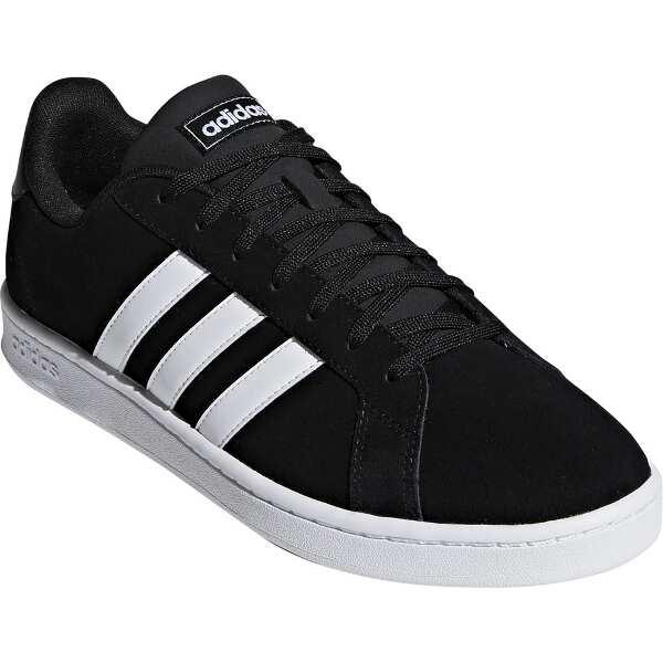 【アディダス】 GRANDCOURT SUE M [サイズ:27.0cm] [カラー:コアブラック×ランニングホワイト] #F36414 【靴:メンズ靴:スニーカー】【ADIDAS】