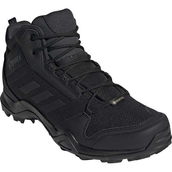 【アディダス】 TERREX AX3 MID GTX [サイズ:25.5cm] [カラー:コアブラック×カーボン] #BC0466 【スポーツ・アウトドア:登山・トレッキング:靴・ブーツ】【ADIDAS】