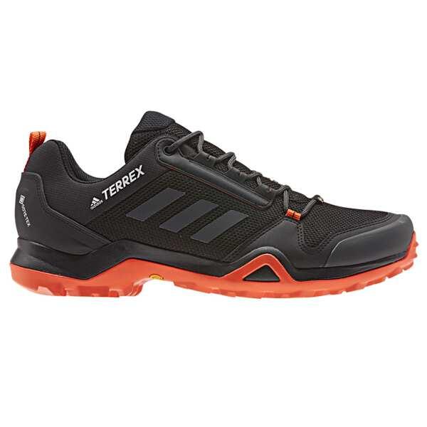 【アディダス】 TERREX AX3 GTX [サイズ:25.5cm] [カラー:コアブラック×カーボン×オレンジ] #G26578 【スポーツ・アウトドア:登山・トレッキング:靴・ブーツ】【ADIDAS】