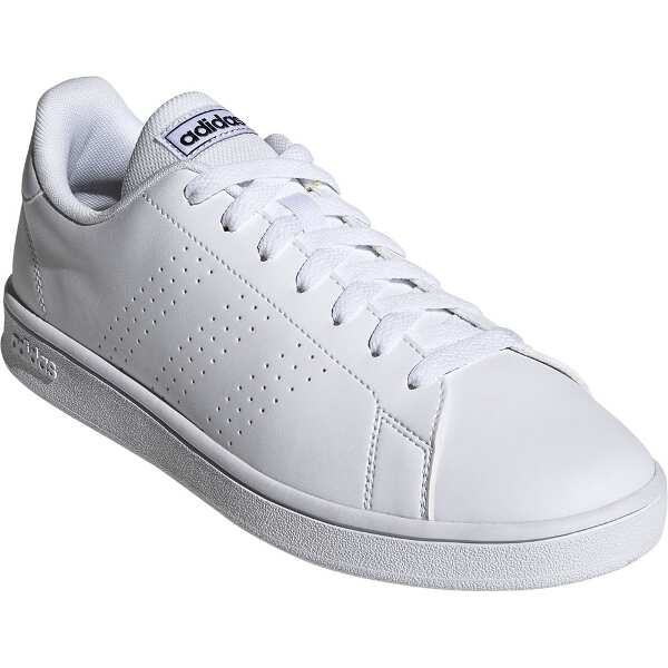 【アディダス】 ADVANCOURT BASE [サイズ:26.5cm] [カラー:ランニングホワイト×トレースブルー] #EE7691 【靴:メンズ靴:スニーカー】【ADIDAS】