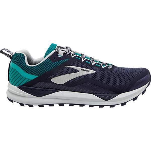 【ブルックス】 カスケディア 14 トレイルランニングシューズ [サイズ:27.5cm(D)] [カラー:ネイビー×ブルーグラス] #1103101D478-478 【スポーツ・アウトドア:登山・トレッキング:靴・ブーツ】【BROOKS CASCADIA 14】
