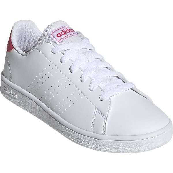 アディダスADVANCOURT Kサイズ 24 5cmカラー ランニングホワイト×リアルピンクEF0211靴 メンズ靴 スニーカーADIDASuPiXTkZO