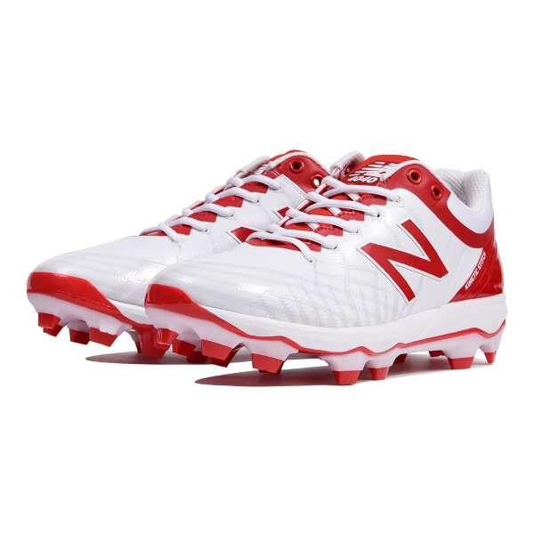 【ニューバランス】 PL4040 野球ポイントスパイク [サイズ:26.0cm(D)] [カラー:ホワイト×レッド] #PL4040Q5 【スポーツ・アウトドア:野球・ソフトボール:スパイク】【NEW BALANCE】