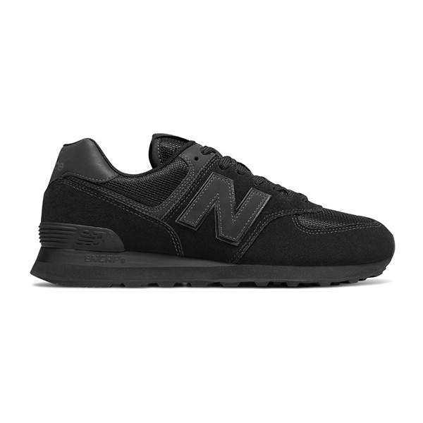 【ニューバランス】 ML574 ランニングシューズ [サイズ:26.5cm(D)] [カラー:オールブラック] #ML574ETE 【靴:メンズ靴:スニーカー】【NEW BALANCE】
