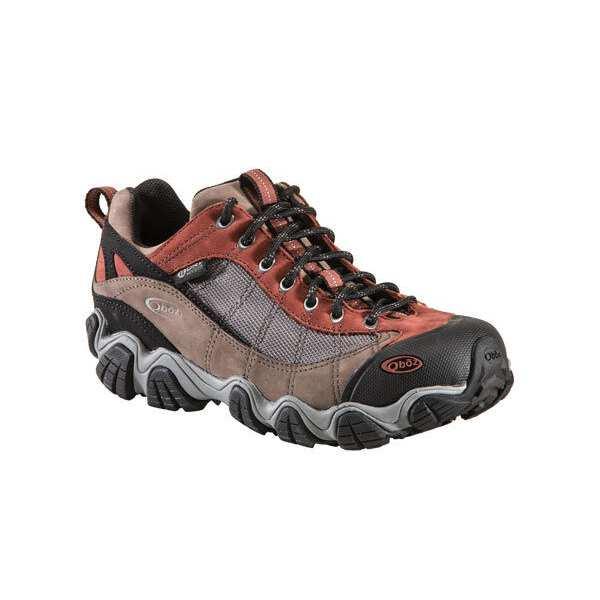 MENS ビードライ [サイズ:US9(27.0cm)] B-DRY】 #21301-EARTH ファイアーブランド [カラー:アース] II 2 【スポーツ・アウトドア:登山・トレッキング:靴・ブーツ】【OBOZ 【オボズ】 LOW ロ― Firebrand メンズ