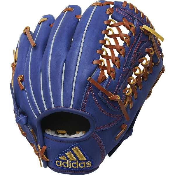 【アディダス】 少年用 軟式グラブ [サイズ:RHS(左投げ用S)] [カラー:カレッジロイヤル] #FTJ06-ED1704 【スポーツ・アウトドア:野球・ソフトボール:グローブ・ミット】【ADIDAS】