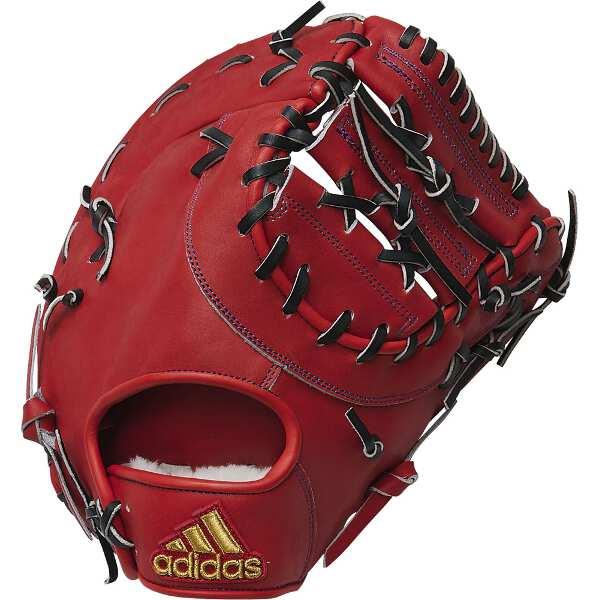【アディダス】 硬式グラブ 一塁手用 [サイズ:LH(右投げ用)] [カラー:アクティブオレンジ] #FTJ18-ED1690 【スポーツ・アウトドア:野球・ソフトボール:グローブ・ミット】【ADIDAS】